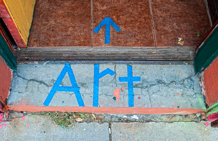 Art, This Way. Santa Fe Avenue, Denver, 2011