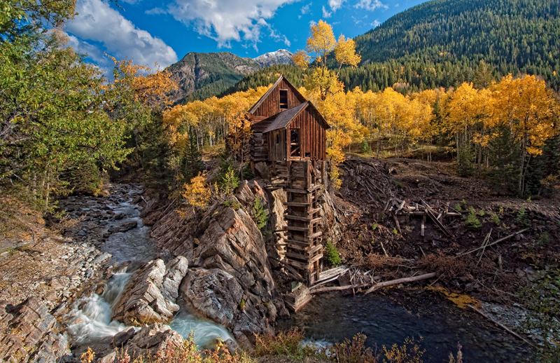Crystal Mill. Crystal, Colorado, 2012