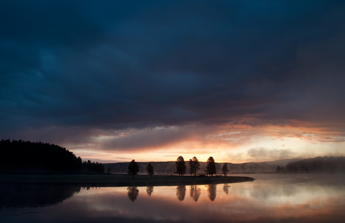 River Sunrise #3. Yellowstone, 2011
