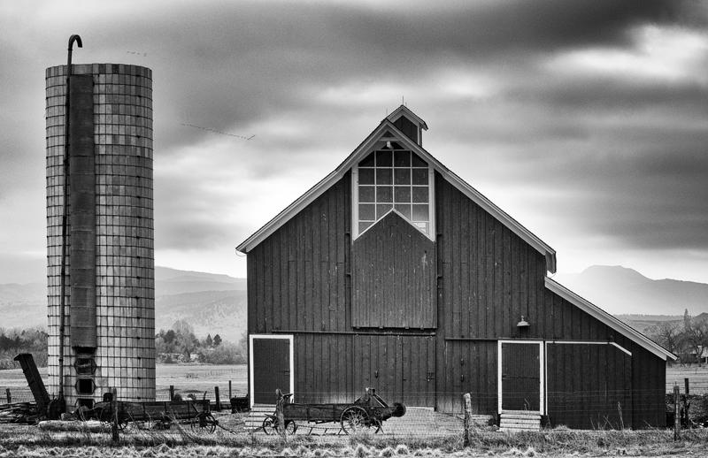 Late Autumn on the Farm. Boulder County, Colorado, 2012
