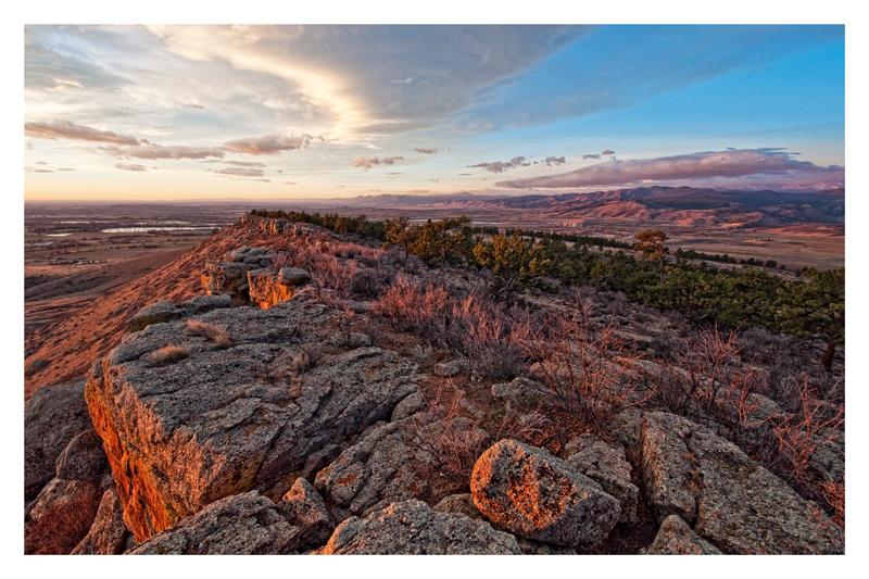 Sunrise Over Boulder County, Colorado. 2012