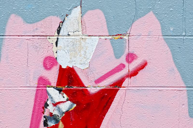 Graffiti Abstract #7. Longmont, Colorado, 2013