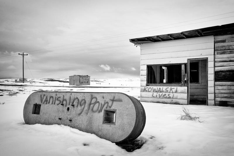 Vanishing Point, The Chase Goes On. Cisco, Utah, 2013