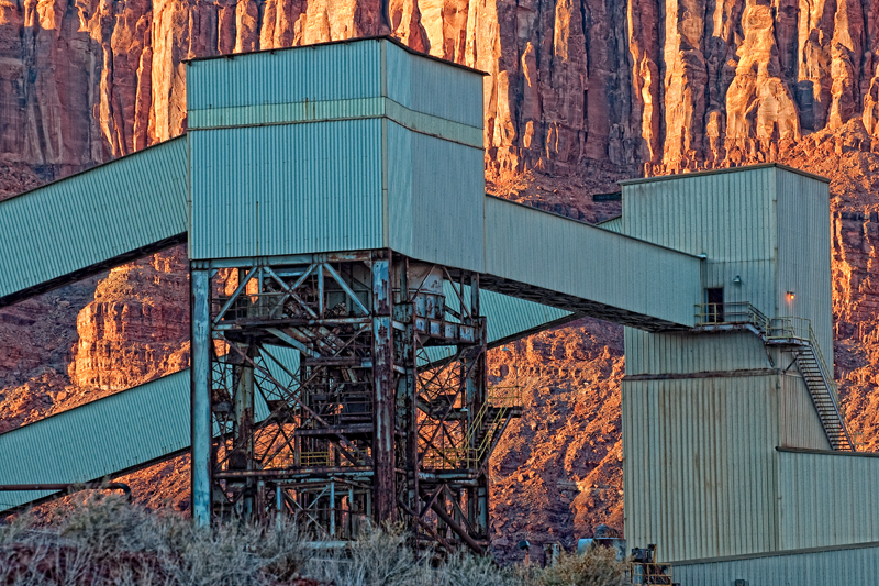 The Potash Plant. Near Moab, Utah, 2013