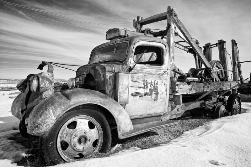 Norris Cox Drill Truck. Cisco, Utah, 2013
