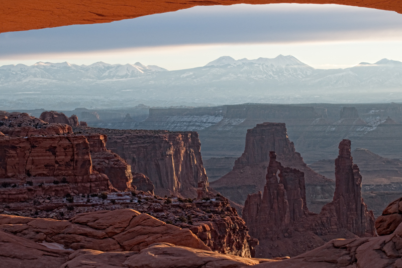 Sunrise at Mesa Arch, View #6. Canyonlands NP, Utah, 2013