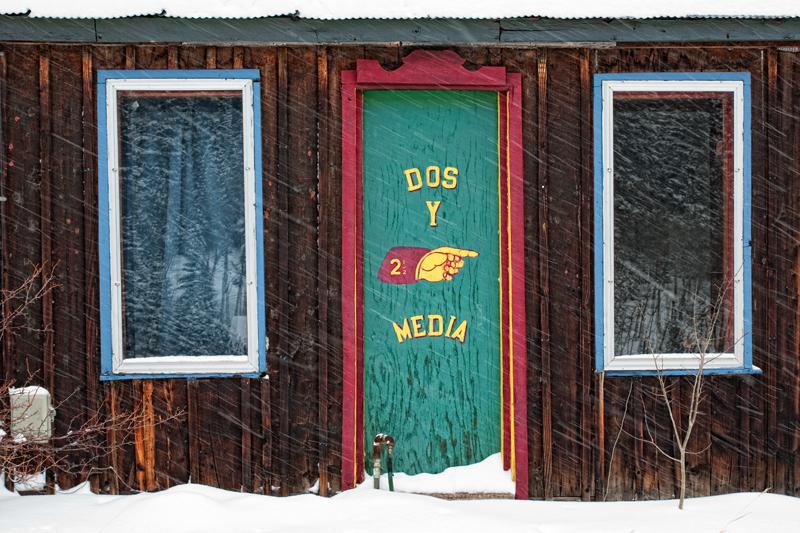 Blizzard at Dos y Media. Ward, Colorado, 2013
