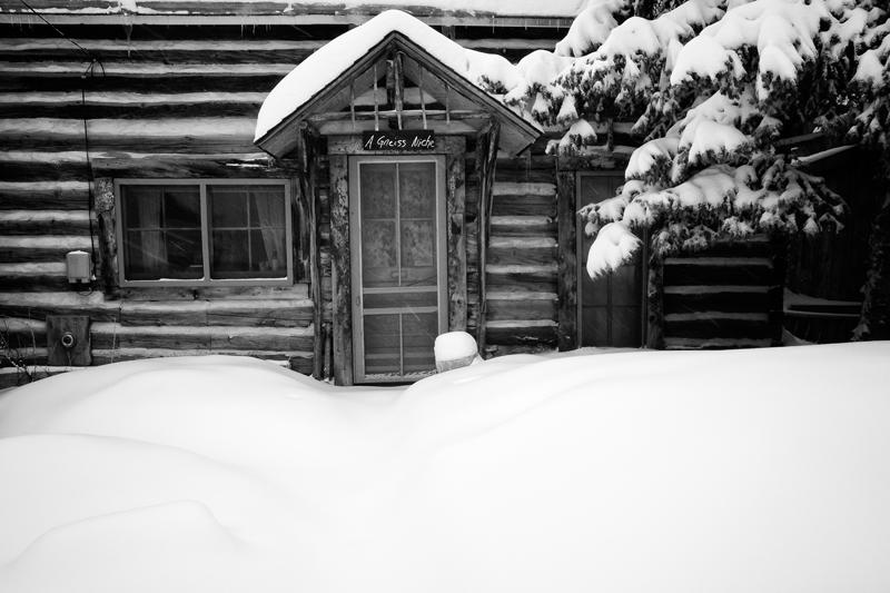 A Gneiss Niche. Gold Hill, Colorado, 2013