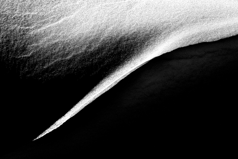 Drifting Snow #3. Joder Arabian Ranch, Colorado, 2013