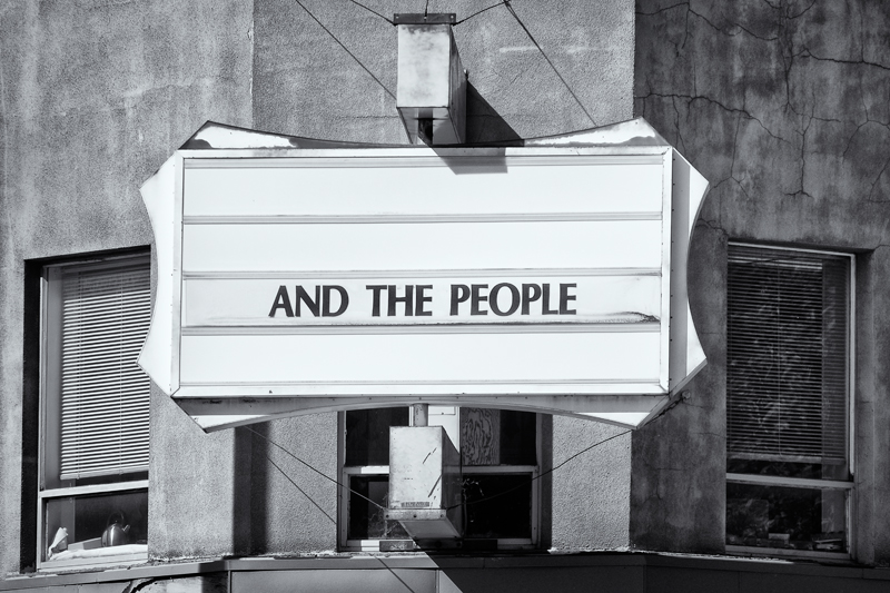 And The People. Longmont, Colorado, 2013