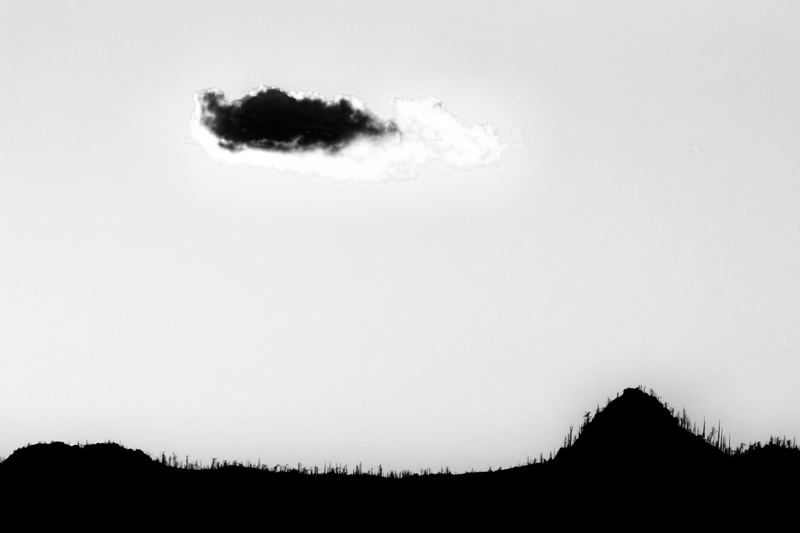 Cloud Above the Horizon. Joder Arabian Ranch, Colorado, 2013