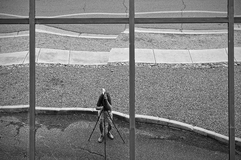 Deformed Photographer. Tucson, Arizona, 2013