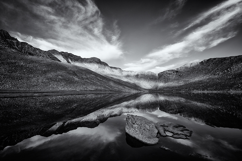 Summit Lake. Near Mt Evans, Colorado, 2013