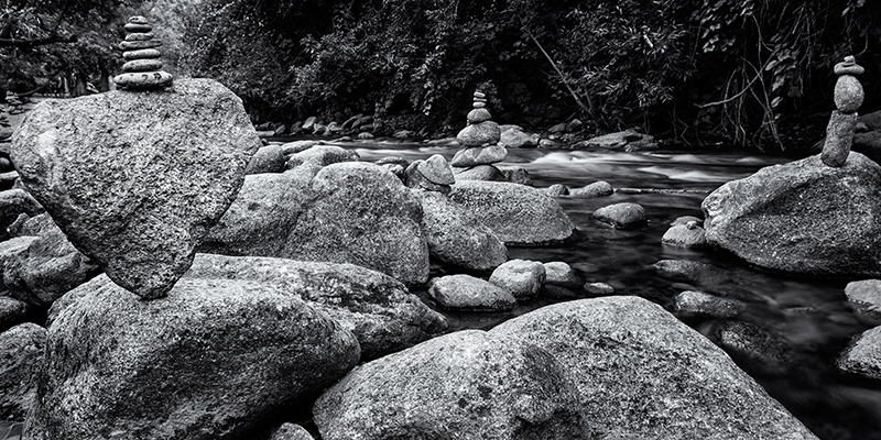 Balanced Rocks. Boulder Creek, Colorado, 2013