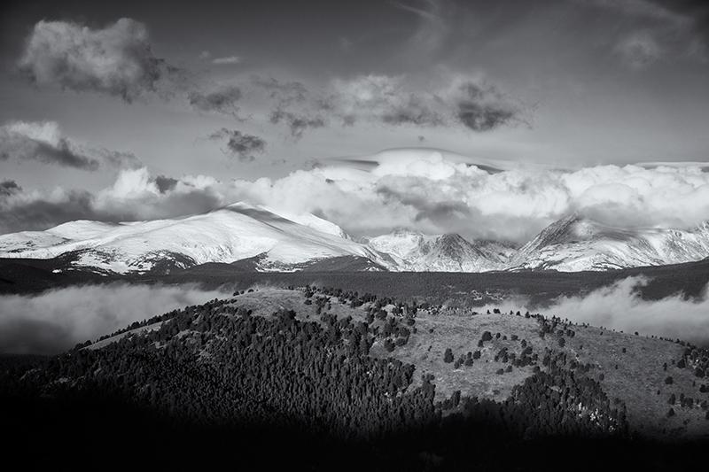 Indian Peaks Wilderness #2. Sugarloaf Mountain, Colorado, 2013