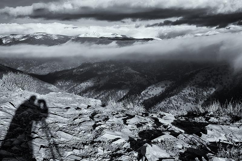Self-Portrait. Sugarloaf Mountain, Colorado, 2013