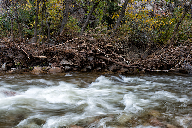 Boulder Creek, Post-Flood. Boulder Canyon, Colorado, 2013