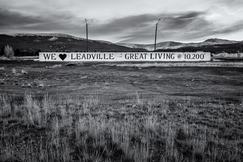 Loving Leadville. Leadville, Colorado, 2013