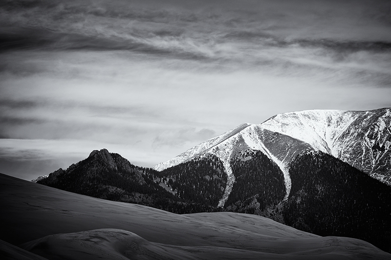 Dunescape #2. Great Sand Dunes NP, Colorado, 2013