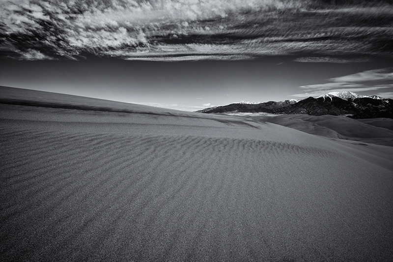 Dunescape #8. Great Sand Dunes NP, Colorado, 2013