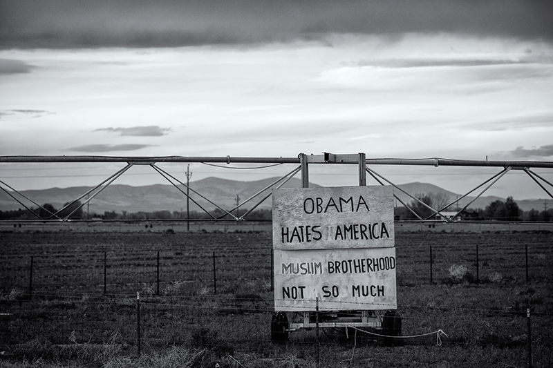 A Farmer's Opinion. Near Salida, Colorado, 2013