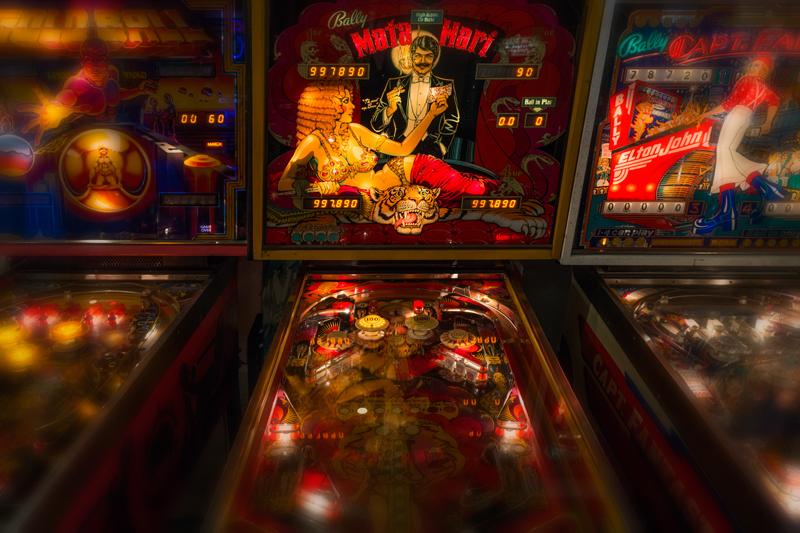 Pinball Arcade #2. Manitou Springs, Colorado, 2013
