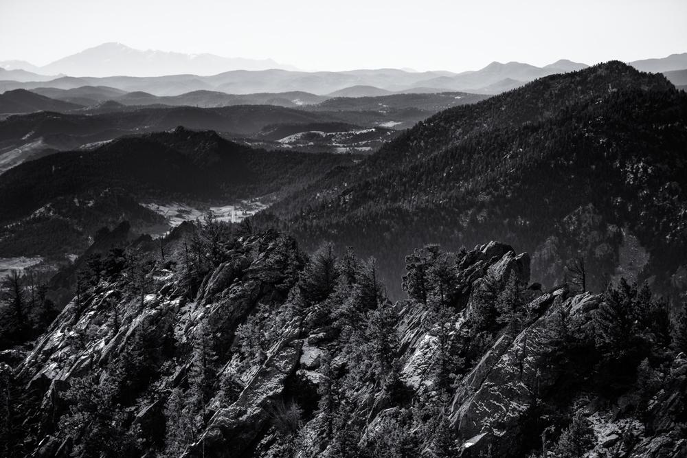 Bear Mnt Summit View #7. Boulder, Colorado, 2013