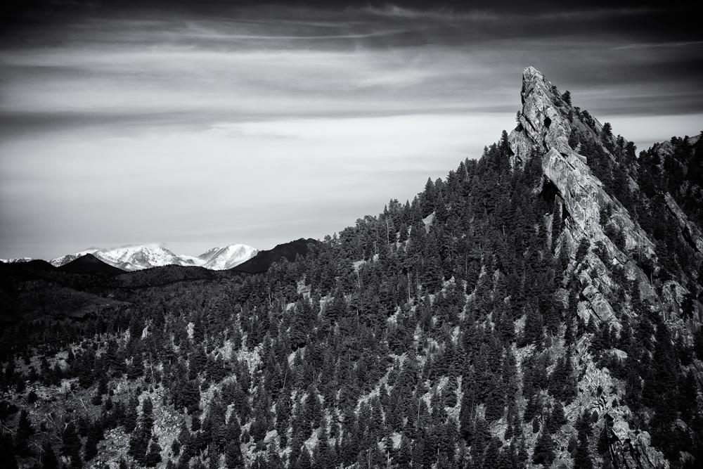 Dinosaur Mountain and The Divide. Boulder, Colorado, 2013