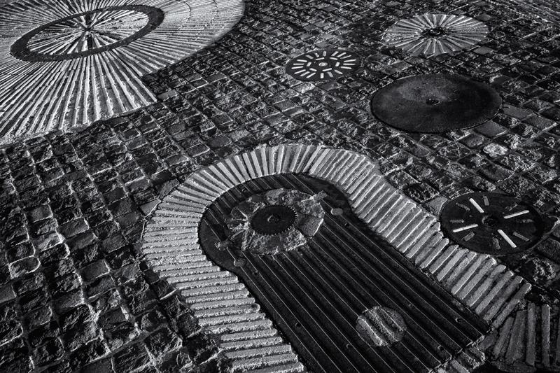 Adoquines #4. Montjuic, Barcelona, 2013