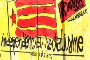 Independence and Socialism. Manresa, Catalunya, 2013