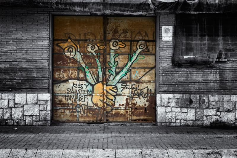 The Fruitful Bird. Barcelona, 2014
