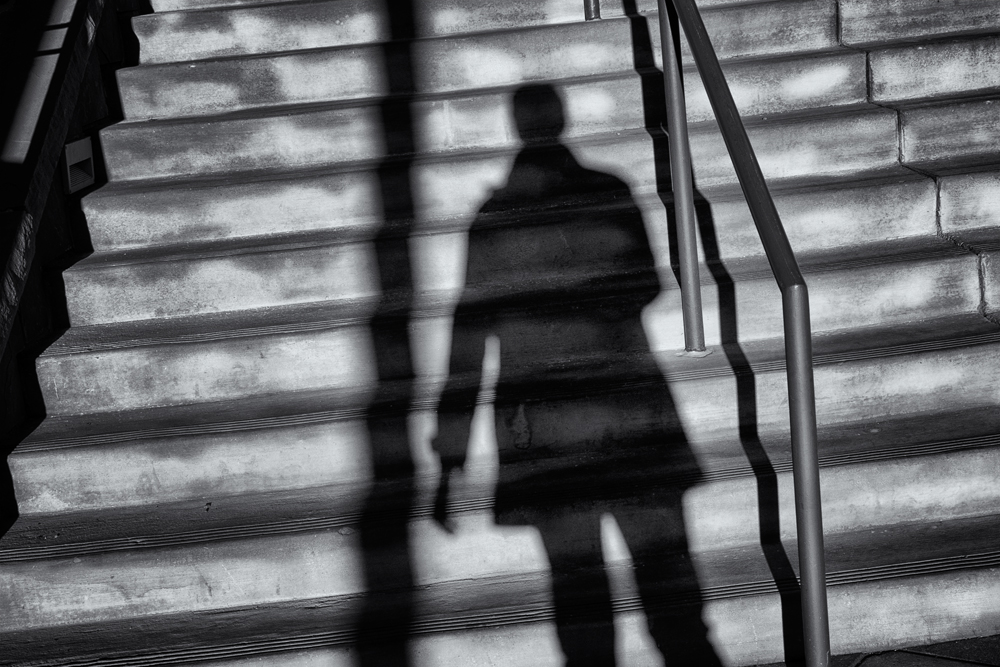 Mall Shadows #3. 29th Street Mall, Boulder, Colorado, 2014