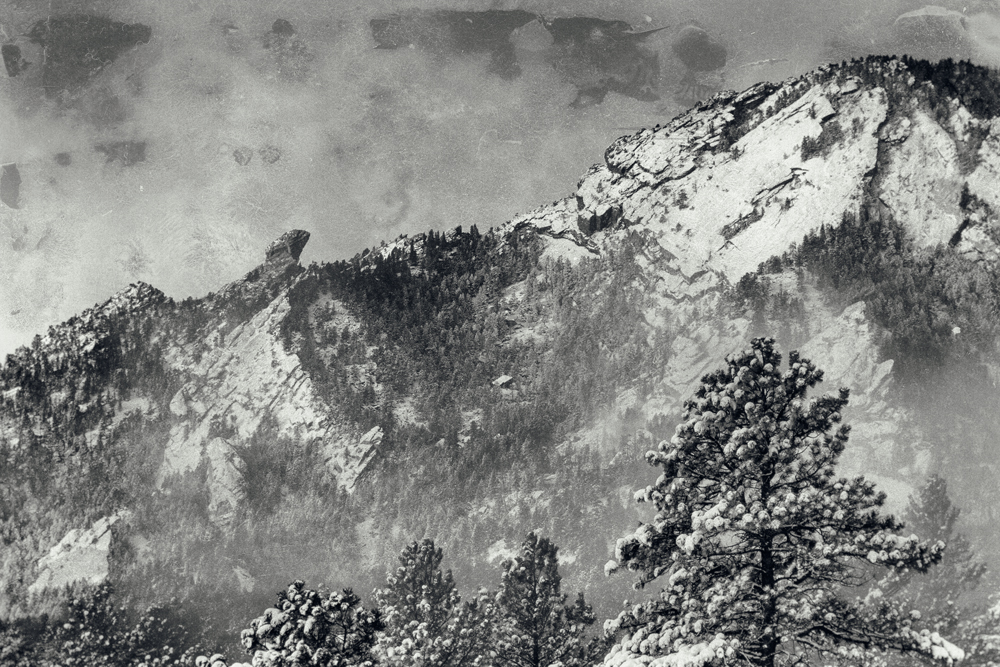 Devil's Thumb circa 1871 (well, 2014, actually). Boulder, Colorado
