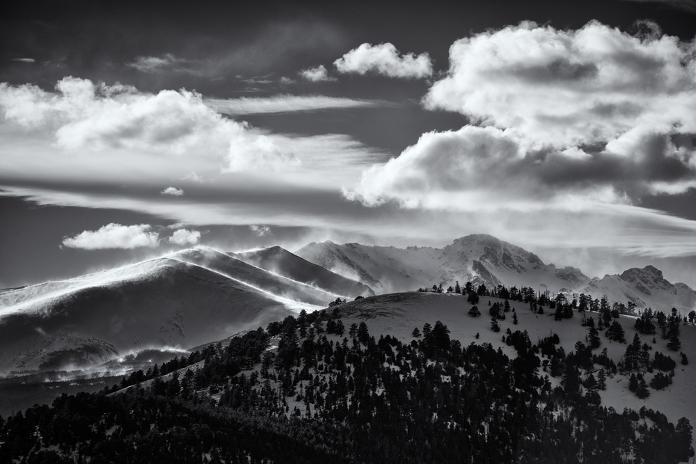 High Winds on Arapahoe Peaks #4. Colorado, 2014