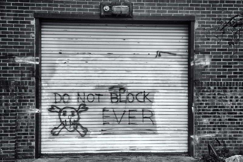 Do Not Block. Tucson, Arizona, 2014
