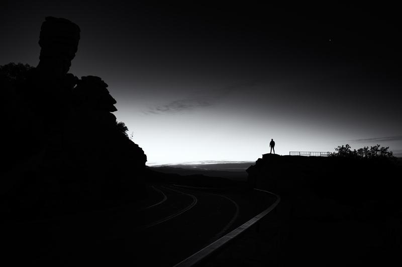 Awaiting Dawn. Catalina Mountains, Arizona, 2014