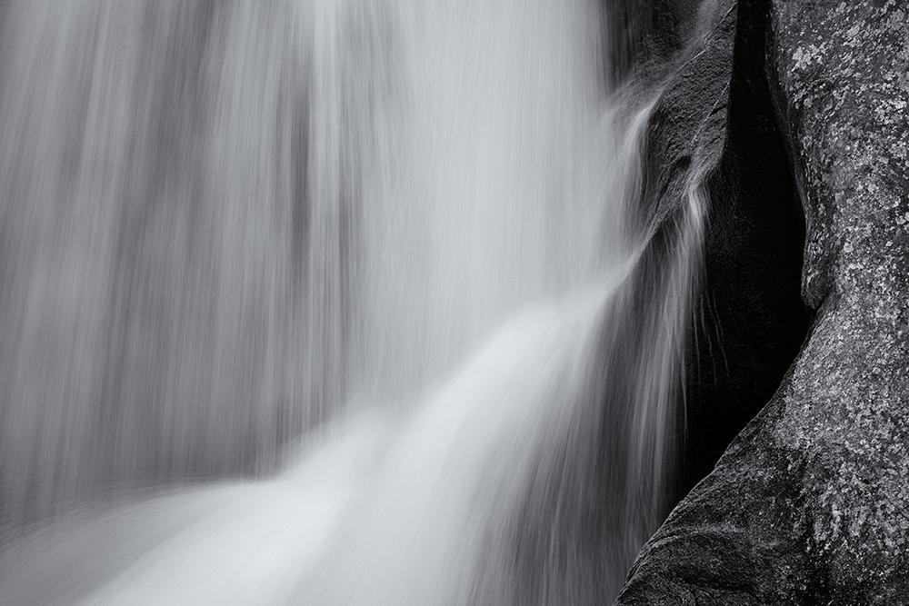 Boulder Falls, Abstract. Colorado, 2014