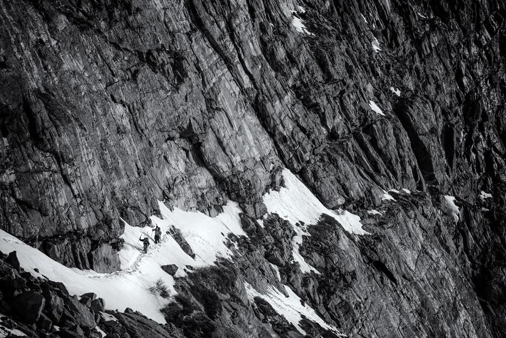 Upper Traverse to Chasm Lake. RMNP, Colorado, 2014