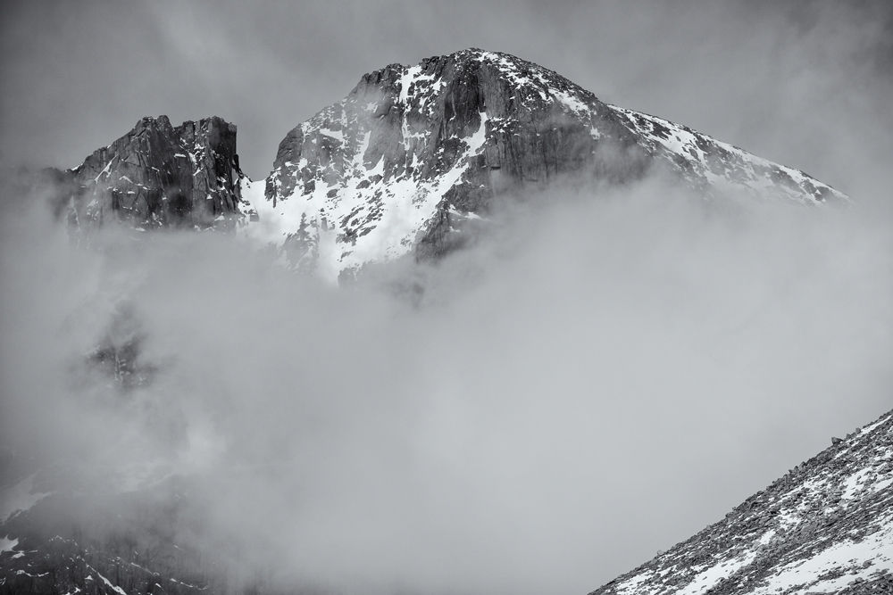 Longs Peak #2. RMNP, Colorado, 2014