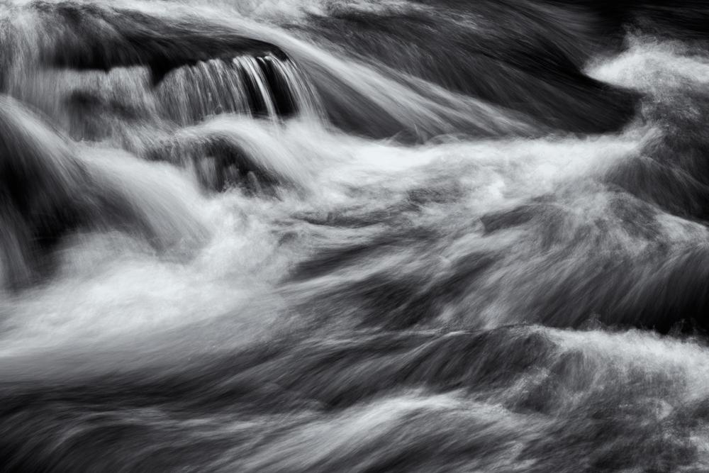 Water Abstract #3. Eldorado Springs Canyon, Colorado, 2014