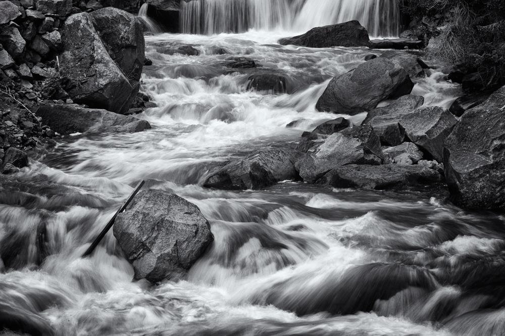 Water, Rock, and Stick. Eldorado Springs Canyon, Colorado, 2014