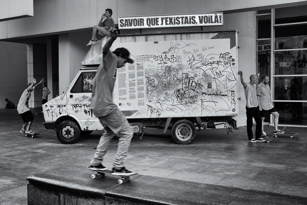 A Skater's Existence, #1. Barcelona, 2014