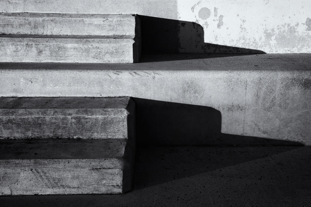 Steps and Shadows. Barcelona, 2014