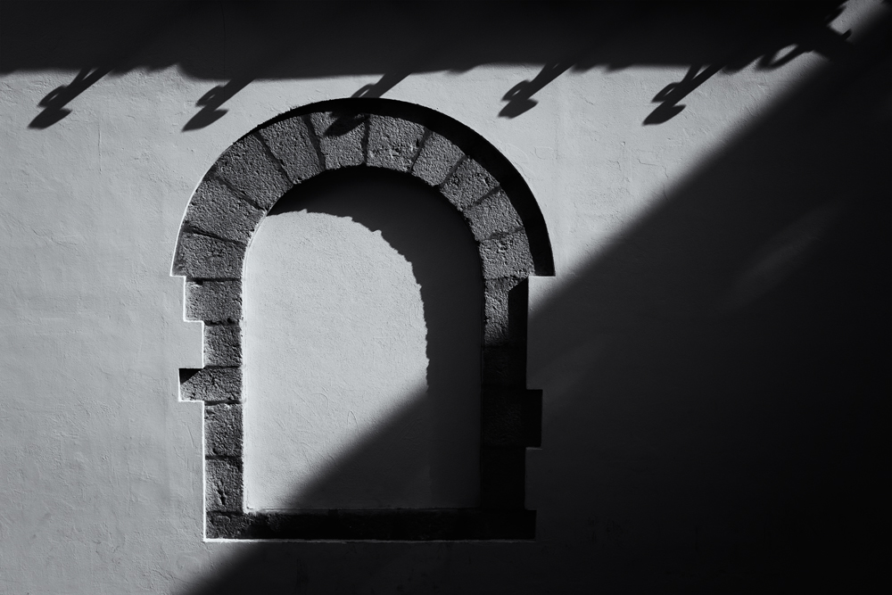 Windowless and in Shadow. Sitges, Catalunya, 2014