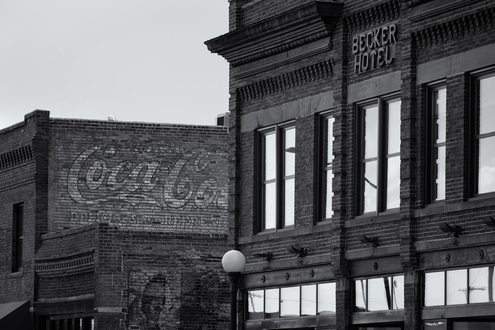 Becker Hotel. Cheyenne, Wyoming, 2014