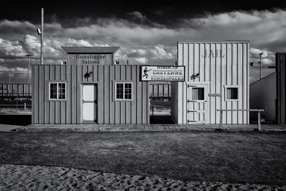 Gunslinger Village. Cheyenne, Wyoming, 2014