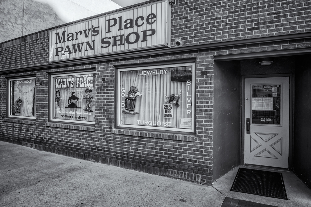 Marv's Pawn Shop. Cheyenne, Wyoming, 2014