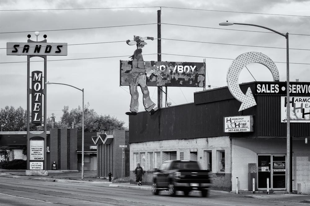 The Fading Cowboy. Cheyenne, Wyoming, 2014