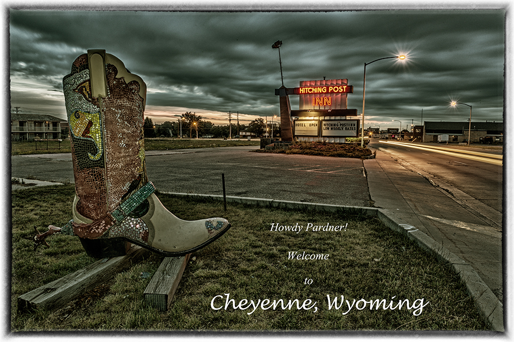 Welcome to Cheyenne Postcard. Cheyenne, Wyoming, 2014