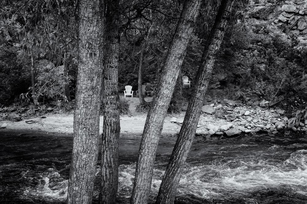 Hidden Chairs. Estes Park, Colorado, 2014